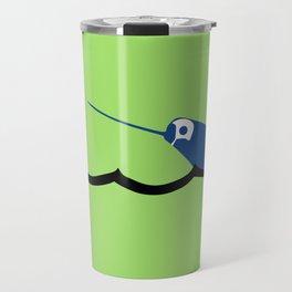 Water Polo Narwhal Travel Mug