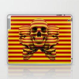Skulls pop Laptop & iPad Skin