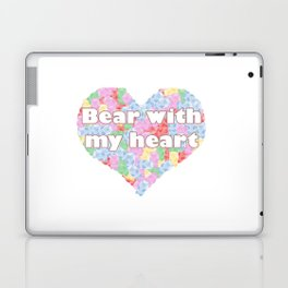 Bear with my heart Laptop & iPad Skin