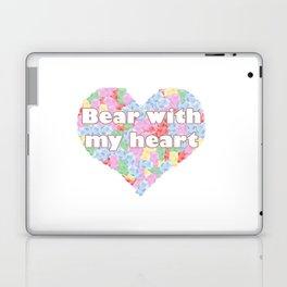 Bear with my heart Laptop & iPad Skin