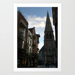 Suffolk Street, Dublin Art Print