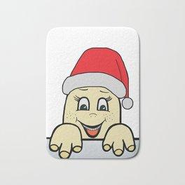 Merry Christmas,Frohe Weihnachten,Joyeux Noël ,Buon Natale,Navidad,Feliz Natal,С Рождеством Bath Mat