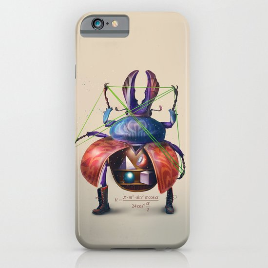 Beetle stunt iPhone & iPod Case