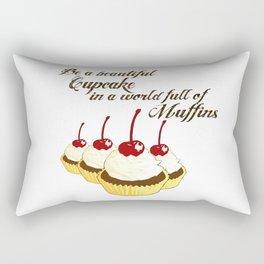 Inspirational Cupcakes Rectangular Pillow