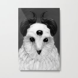 OWLEFICENT Metal Print
