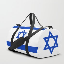Flag of the State of Israel - High Quality Image Duffle Bag