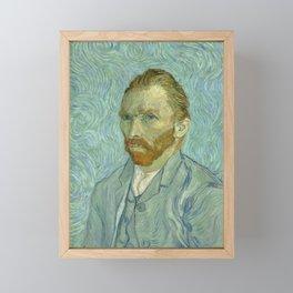 "Vincent van Gogh ""Self-portrait"" (1) Framed Mini Art Print"
