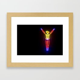 The Man in 2011 Framed Art Print