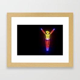 The Man in 2011 Framed Art Print