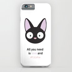 All you need is love and meow! Slim Case iPhone 6s