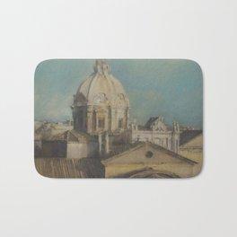 Rome Saint Luca and Saint Martina Church Bath Mat