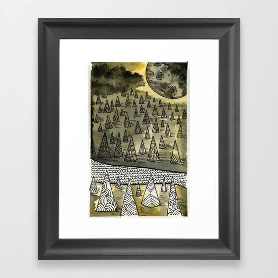 River Runnin Framed Art Print