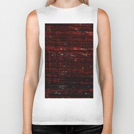 Color gradient and texture 25 dark red Biker Tank