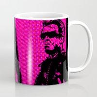 terminator Mugs featuring Terminator by Bolin Cradley Art
