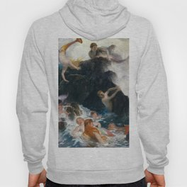 Play of the Nereides by Arnold Bocklin, 1886 Hoody