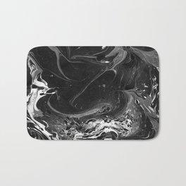 // MARBLED BLACK // Bath Mat