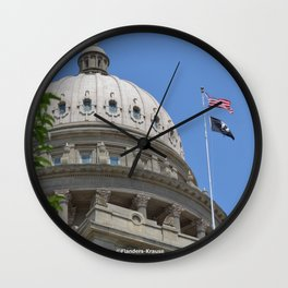 Idaho State Capital Building ~ I Wall Clock