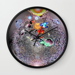 Where Shall We Go Today? Wall Clock