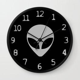 Alien Time Wall Clock