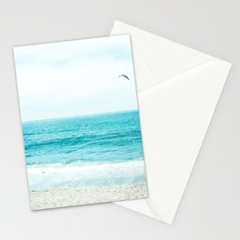 Travel Photography Love The Aqua Ocean Wave I Stationery Cards