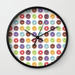 Doughnut delights Wall Clock