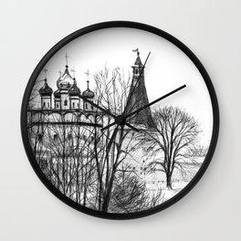 Iossifo-Volotsky Monastery SK02P Wall Clock