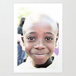 Kenya / Kitui Kid - Loise Art Print