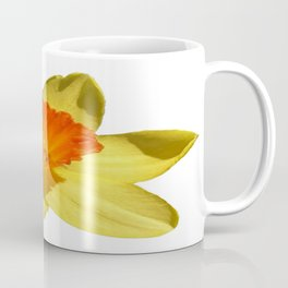 Daffodil Emblem Isolated On White Coffee Mug