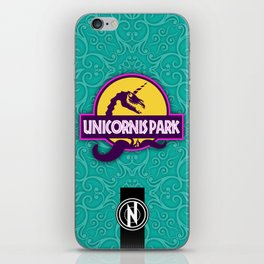 Unicornis Park iPhone Skin