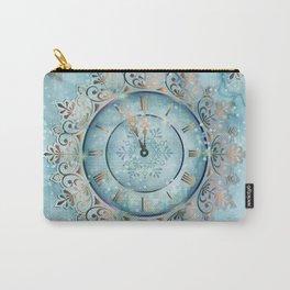 Clock Christmas mandala Carry-All Pouch