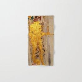The Golden Knight - Gustav Klimt Hand & Bath Towel