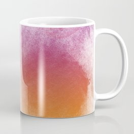 Stay Magical - Pink Orange Red Watercolour Print Coffee Mug