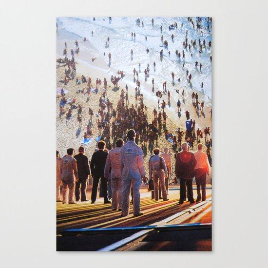 Life Moves Pretty Fast Canvas Print