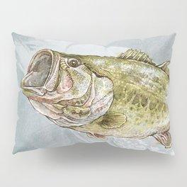 Magnificent Largemouth Bass Pillow Sham