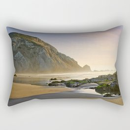 Algarve west coast sunset Rectangular Pillow