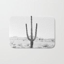 Cactus BW Bath Mat