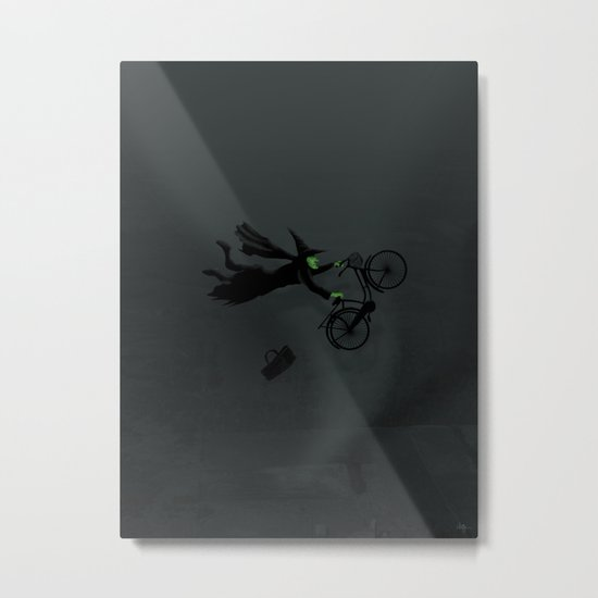 Wicked Bike Trick Metal Print