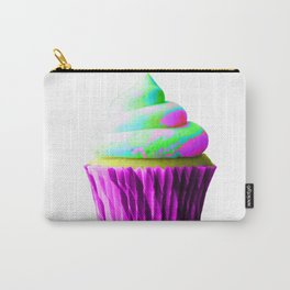 Neon Cupcake Carry-All Pouch