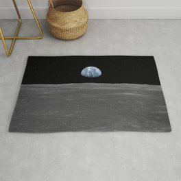 see the marble from the moon | space 005 Rug