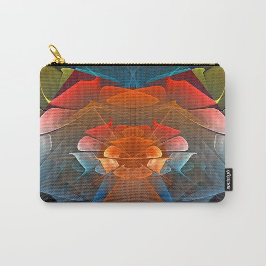 Colourful unfolding fantasy abstract Carry-All Pouch