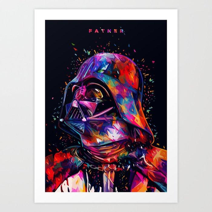 Father Art Print