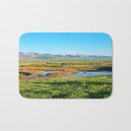 Grass Lands in Utah Bath Mat