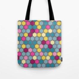 Funky Honeycomb Tote Bag
