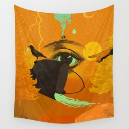 WITCHY CAULDRON Wall Tapestry