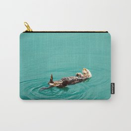 Otter Watercolor Carry-All Pouch