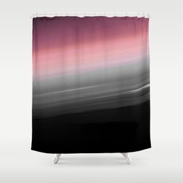 Pink to Gray Smooth Ombre Shower Curtain