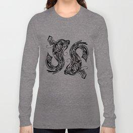 Pisces dual fish Long Sleeve T-shirt