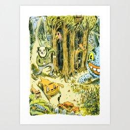 Bastian Art Print