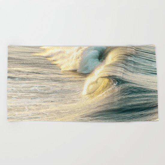 Nautical Crash Beach Towel
