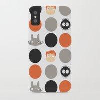 miyazaki iPhone & iPod Cases featuring I Love Miyazaki by Etiquette